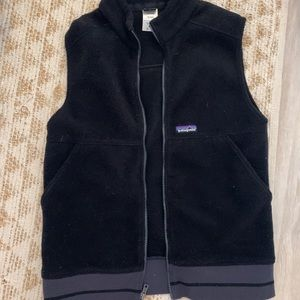 Patagonia fleece vest size Small